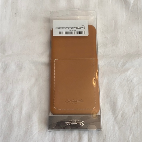 4/$25- NWT Leather IPhone 7 Pro Case NWB